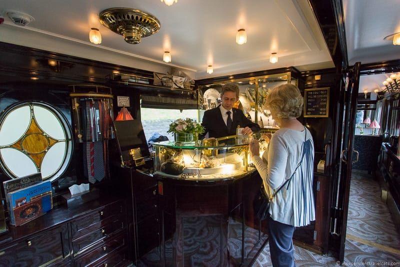 Belmond Venice Simplon Orient Express Train Boutique