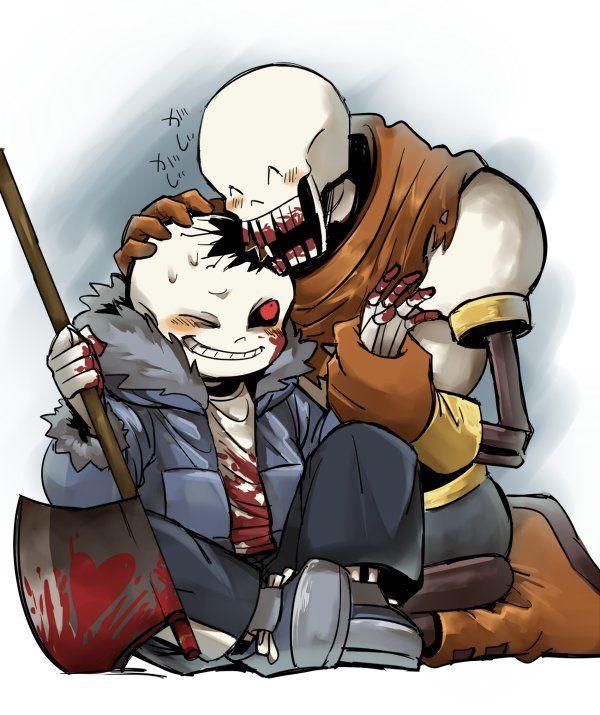 Horrortale Papyrus Sans Horrortale Horror Sans Undertale Cute