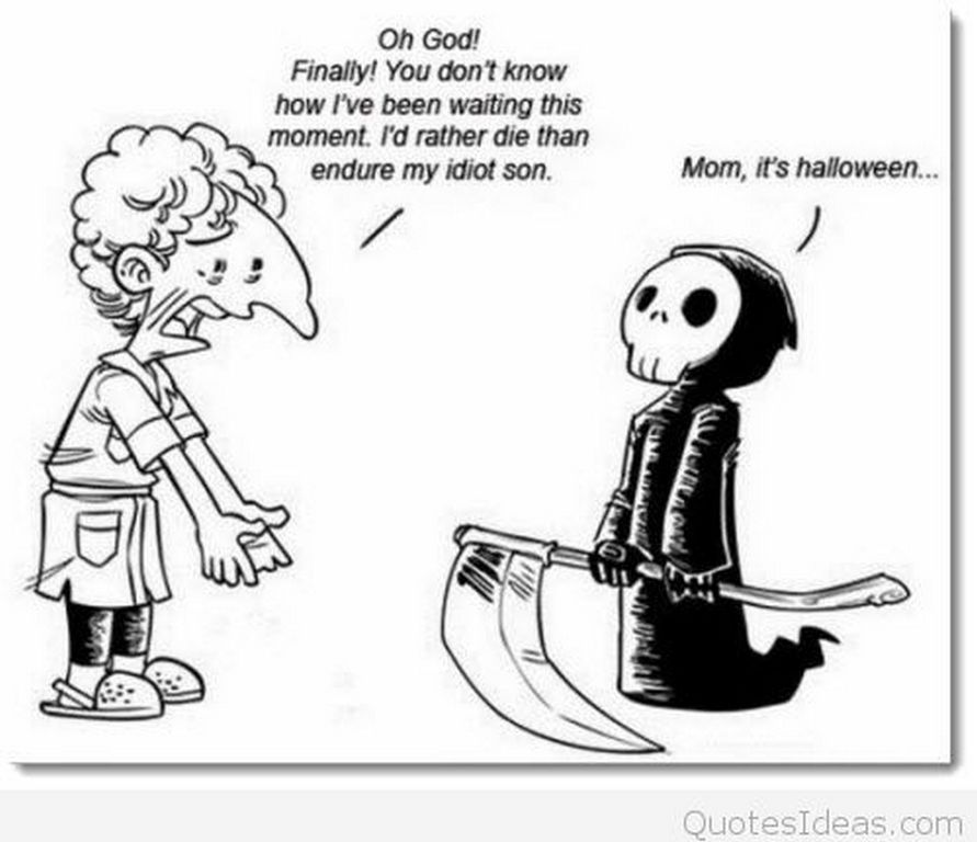 Superbe Funny Halloween Jokes And Quotes