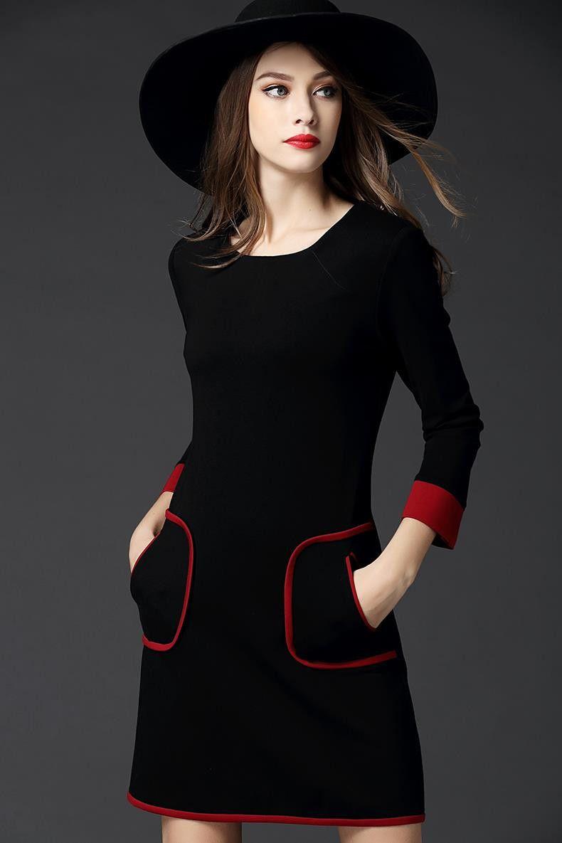 Aiala rose red rockabilly dress newcasualblackandrosered