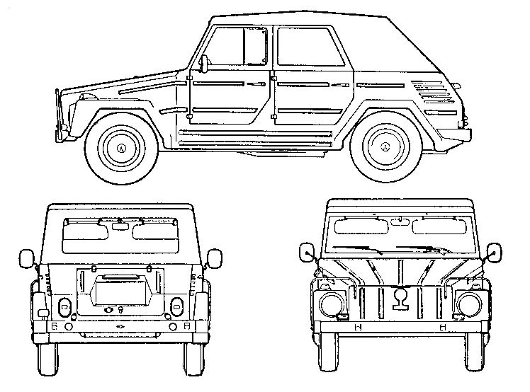 Images for u003e Volkswagen Type 181 The Thing Pinterest - copy car blueprint website