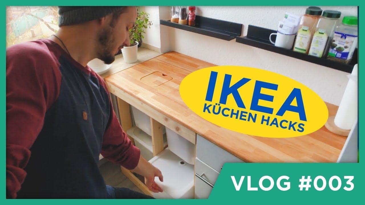 IKEA DIY Hacks für die Küche 🤩 in 2020   Ikea diy, Diy ...