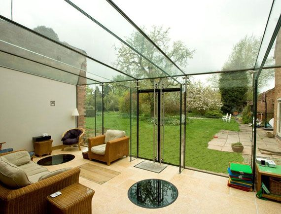 Glass Portal Frame Roof By Glasstec Systems Glasstecsystems Structuralglass Structuralglazing Essexlife G Glass Structure Glass Extension Glass Balcony