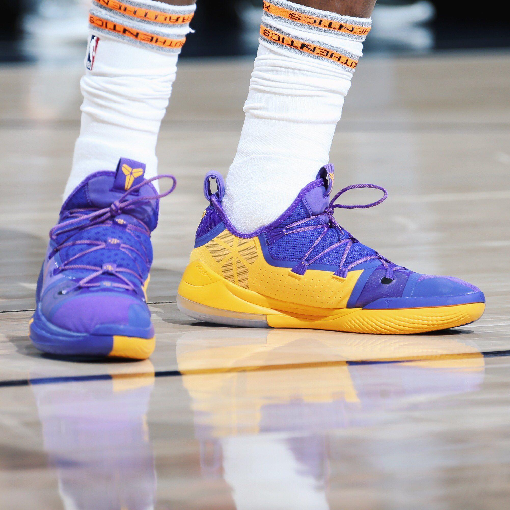 43d732b52bd Utah Jazz (18-19) Jae Crowder Nike Kobe A.D. Exodus PE