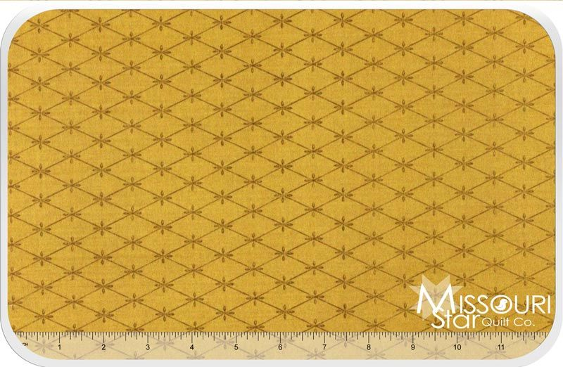 12 Days of Christmas - Tufting Gold Yardage from Missouri Star Quilt Co