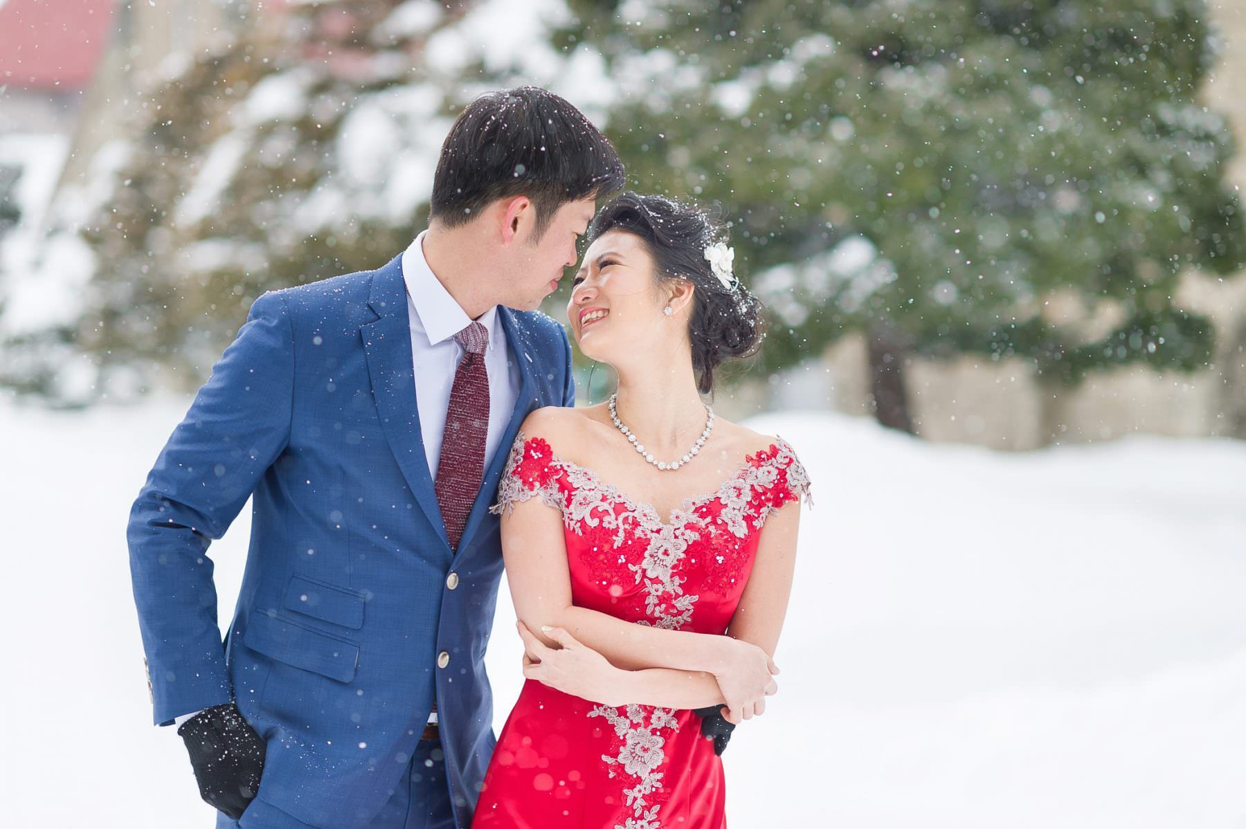 Photography: John 15 Photography  #prewedding #hokkaido #北海道 #前撮り