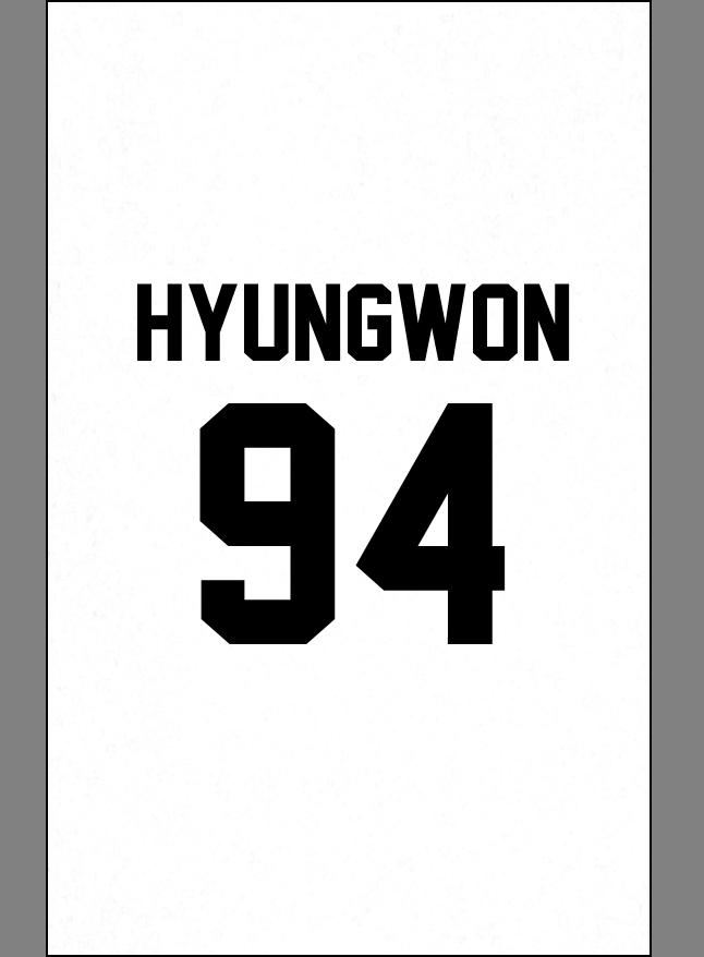 MX Hyungwon Hyungwon Monstax Monsta x