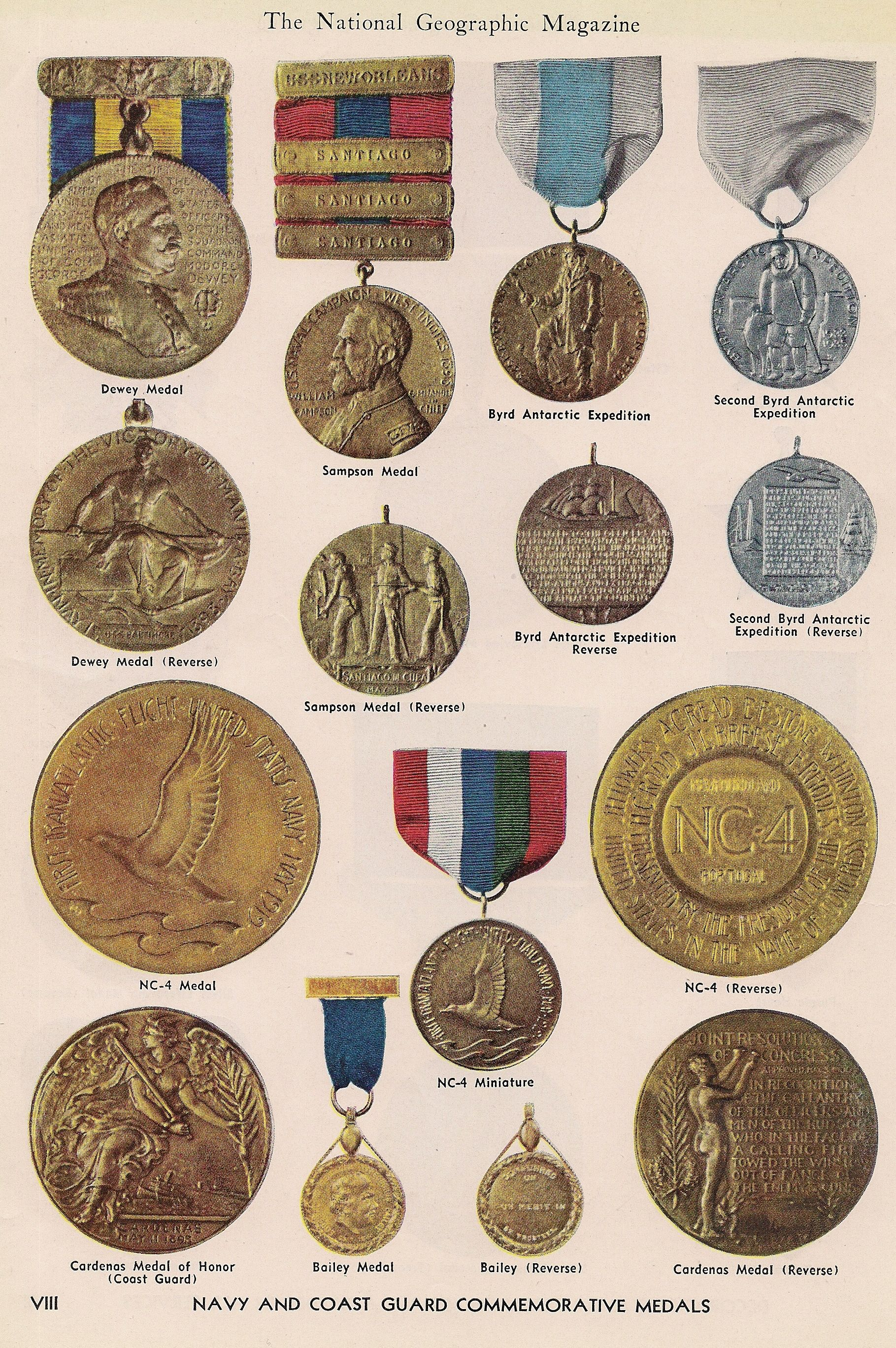 Navy & Coast Guard medals | MILITARY/ROYALTY | Military