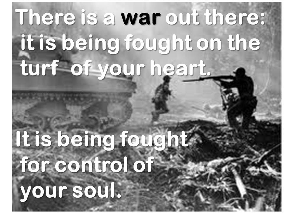 war with real battle real pain real casualties real defeats