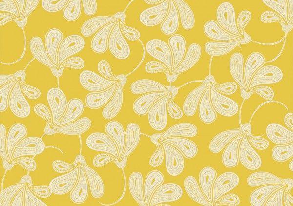 Provencal yellow wallpaper