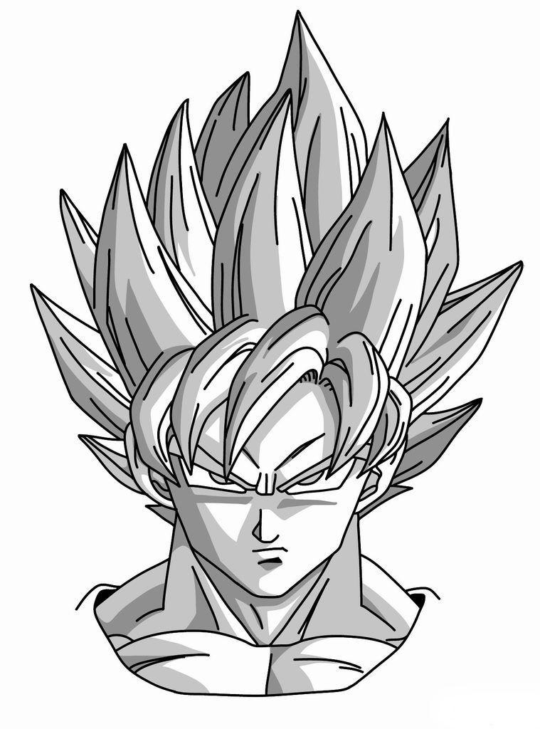 How To Draw Goku Super Saiyan From Dragonball Z Goku Drawing Dragon Ball Artwork Anime Dragon Ball Super