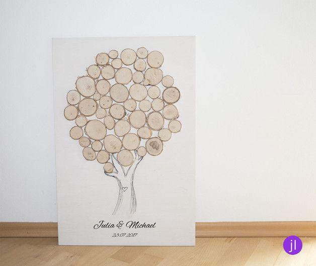 Sehr Schicker Gastebuch Baum Fur Eure Hochzeit Oder Auch Ein Tolles