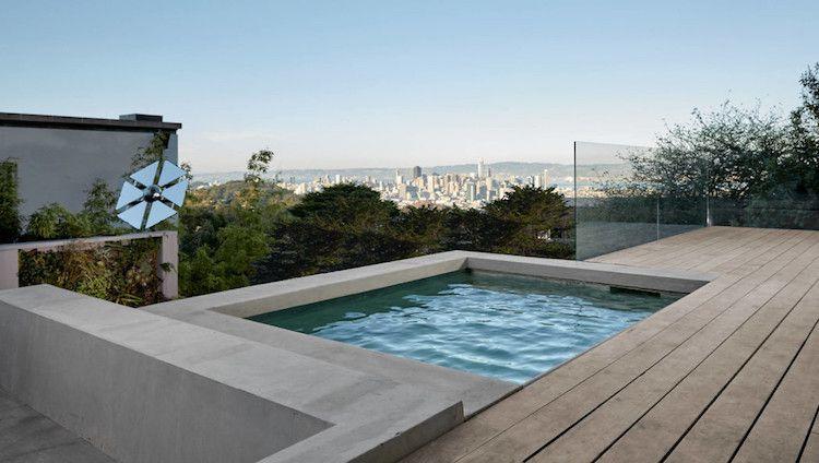 Bois brut et béton ciré pour une décoration intérieure cosy au goût - beton decoratif pour terrasse