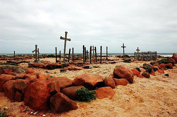 Beachside Graveyard  --  Skeleton Coast, Namibia