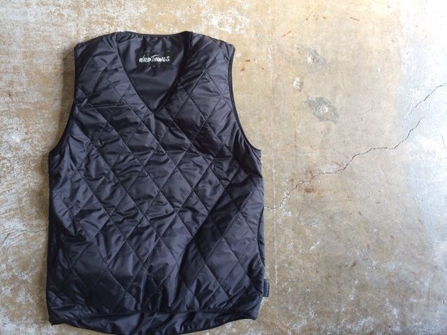 WILD THINGSの店舗限定PRIMALOFT PULLOVER VEST LIMITEDが再