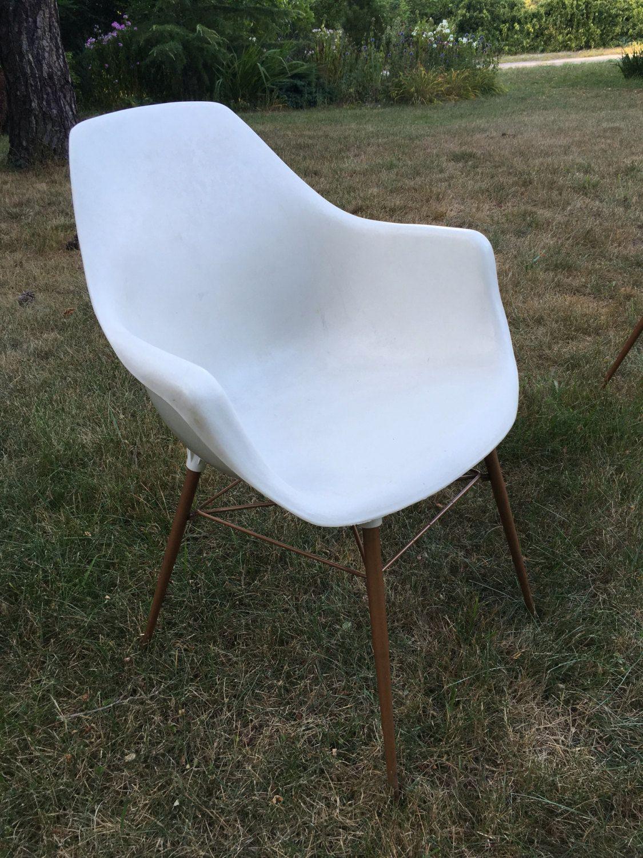RESERVED Vintage Sam Avedon, Alladin Plastic, Molded Arm Chair, Mid ...