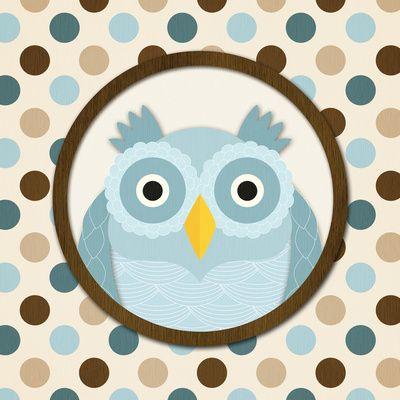 O is for Owl I Art Print N. Harbick