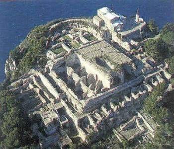 VillaJovisCapri (Emperor Tiberiu's Palace) Paysage
