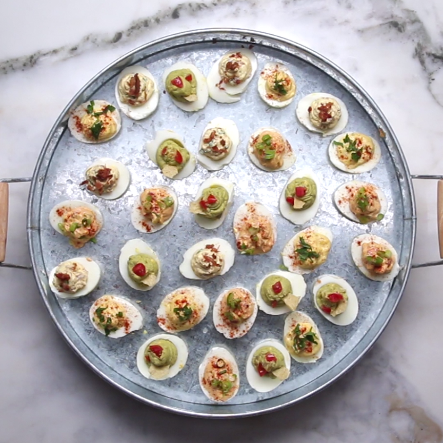 Having A Party? Wow Your Guests With These Deviled Eggs Four Different Ways