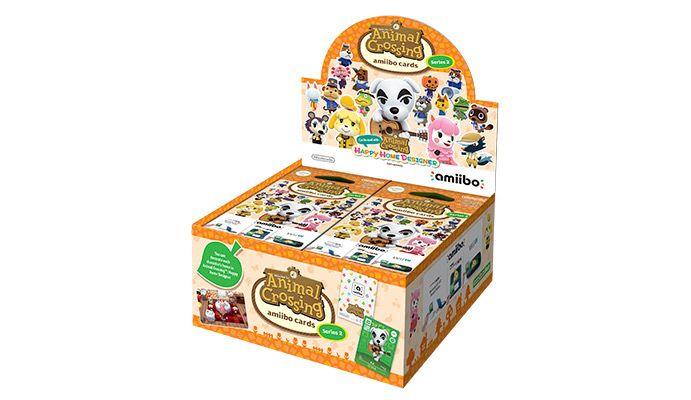 Nintendo amiibo - Animal Crossing Cards - Series 2 - Box of 42 Packs