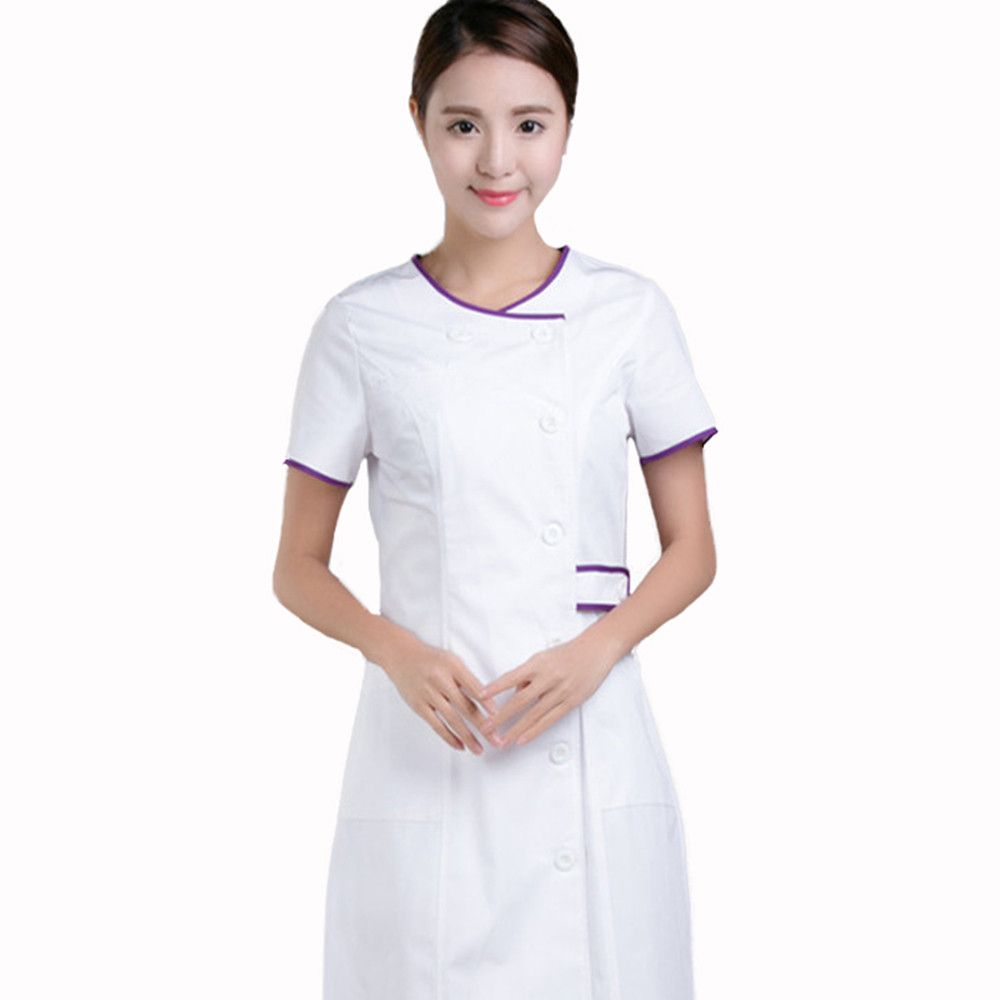 Work wear uniforms clothes 2016 summer short sleeve for Spa uniform suppliers south africa