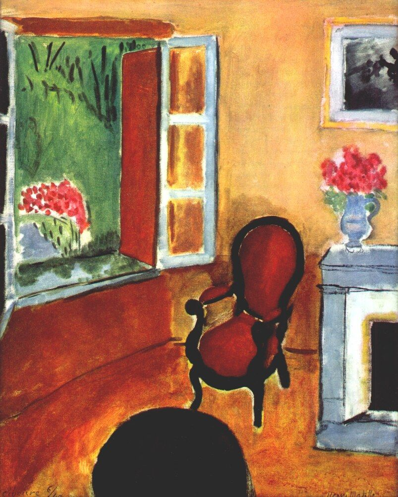 Room at Ciboure. 1940. Henri Matisse | art | Pinterest | Henri matisse