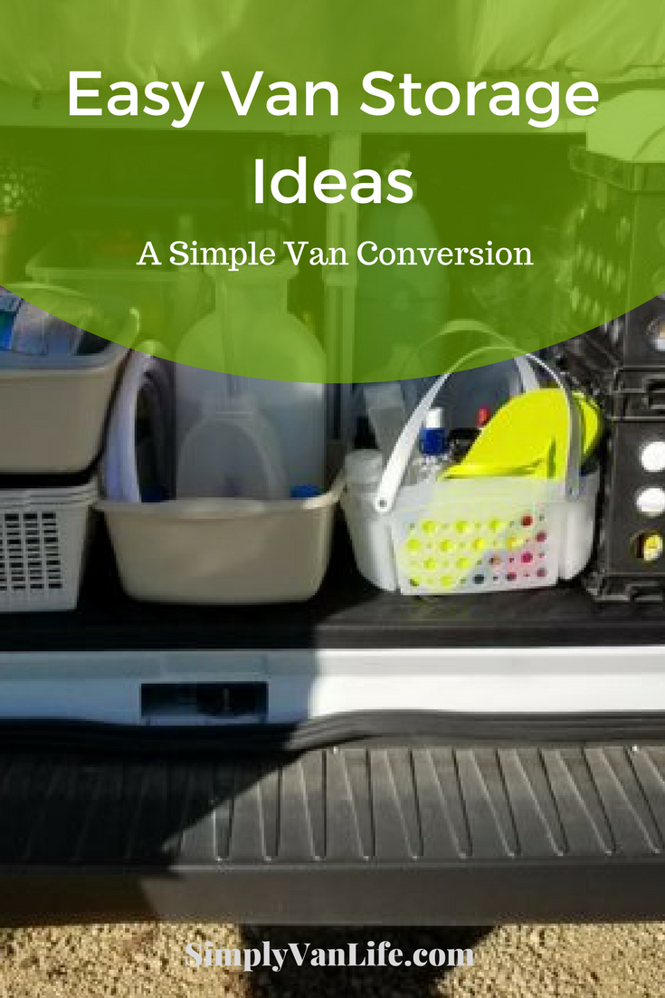 Easy Van Storage Ideas  A Simple Van Conversion  #VanLife | Van Life