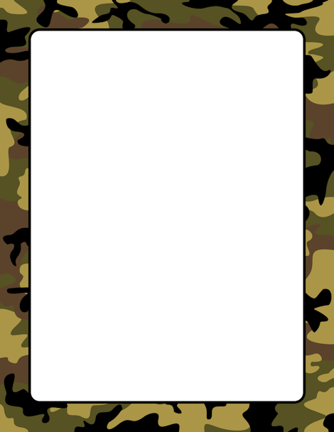 Camouflage Page Border. Free Downloads At Http://pageborders.org/download