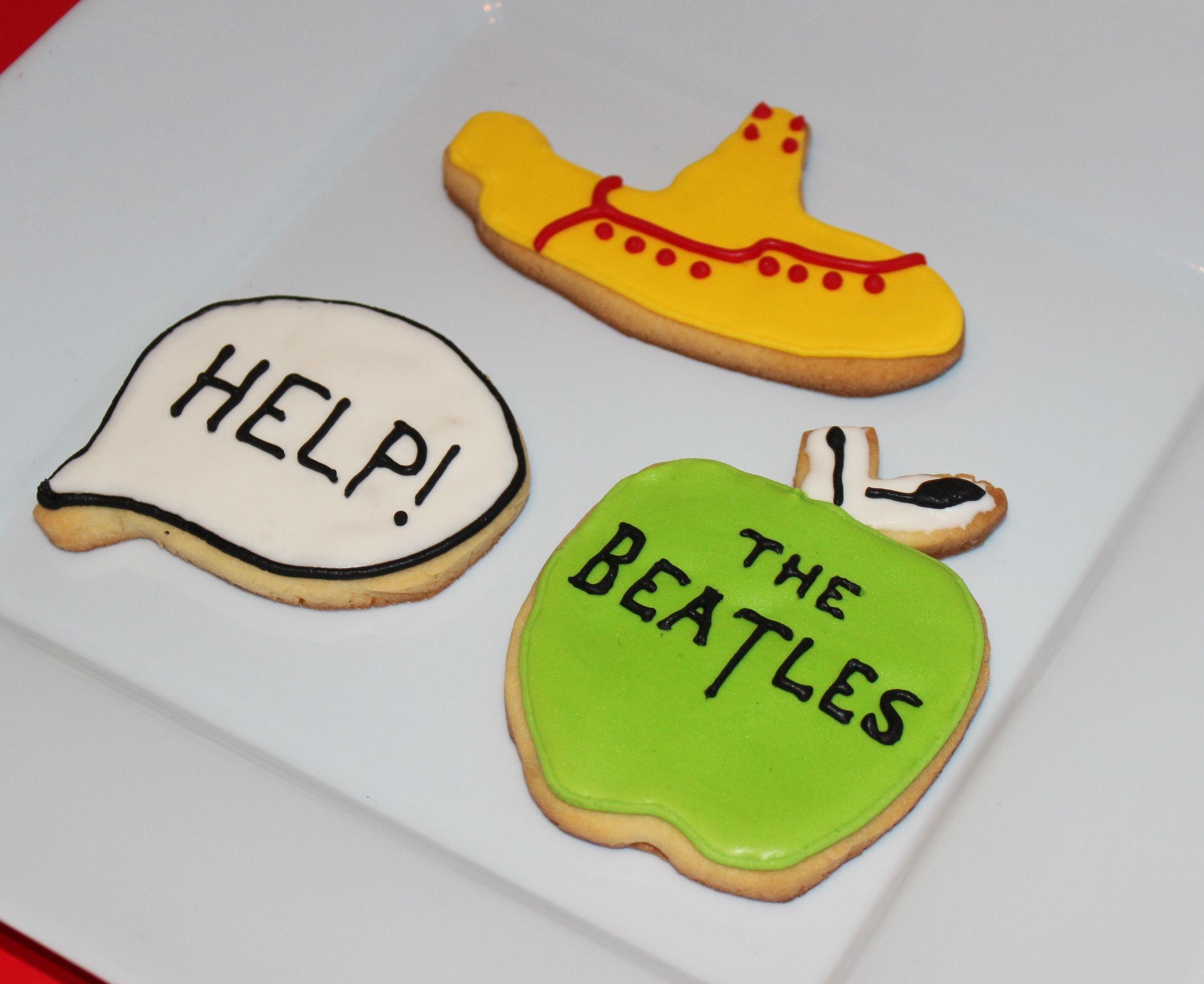 Beatles Cookies by Violeta Glace