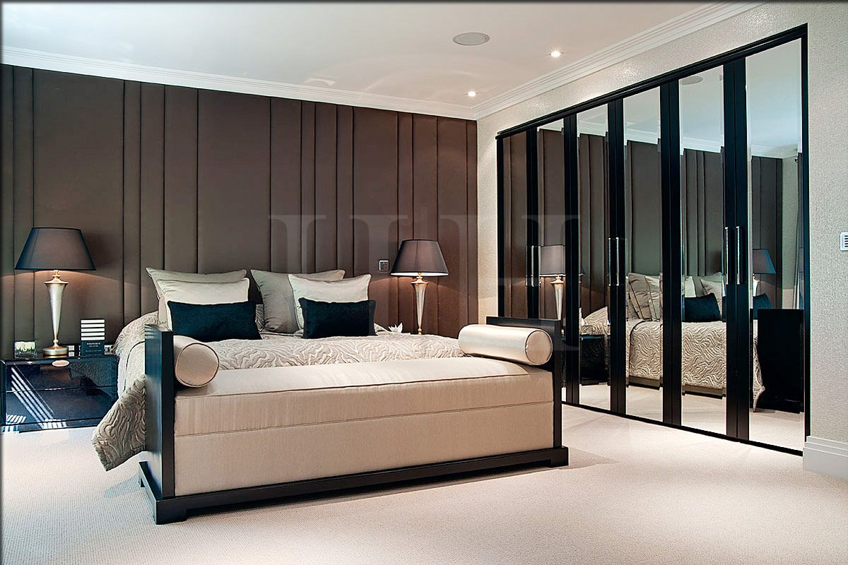 Grove lodge uk project interior design portfolio hill for Bedroom designs london