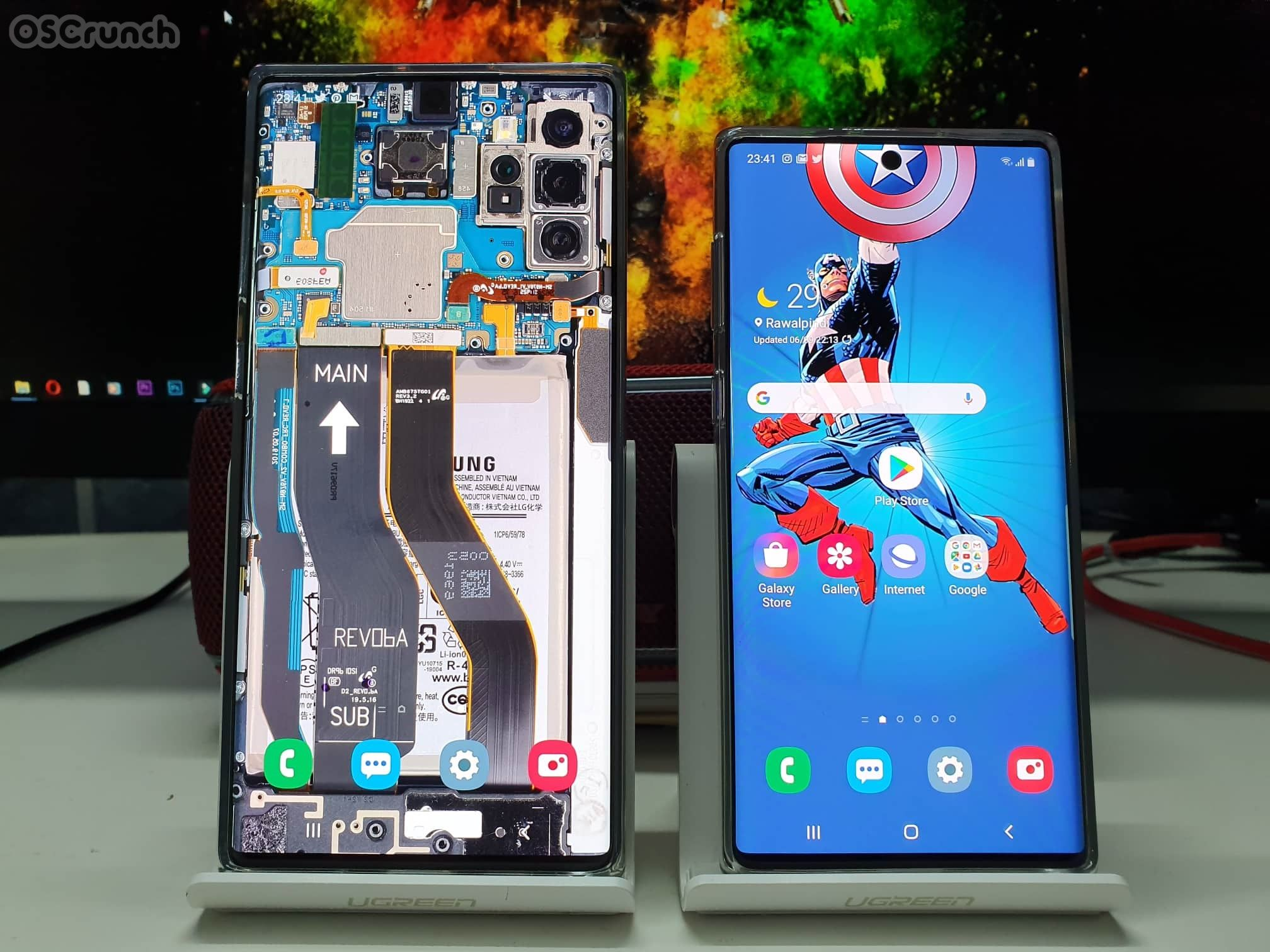 Download Galaxy Note 10 Plus Hd Wallpapers Hide Camera Galaxy Note 10 Galaxy Note Galaxy