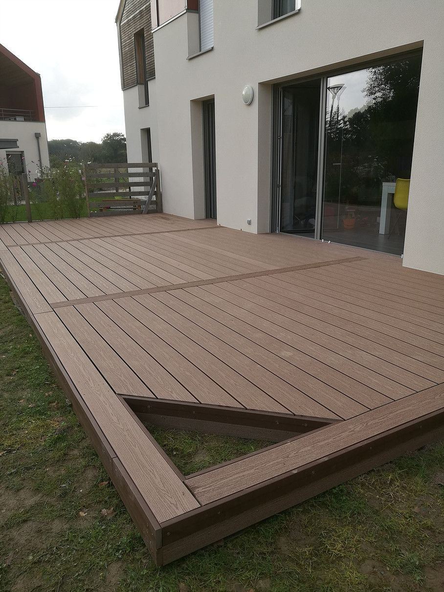 Amenagement Terrasse Composite Terrasse Bois In 2019 Salons Construction Terrasse Terrasse