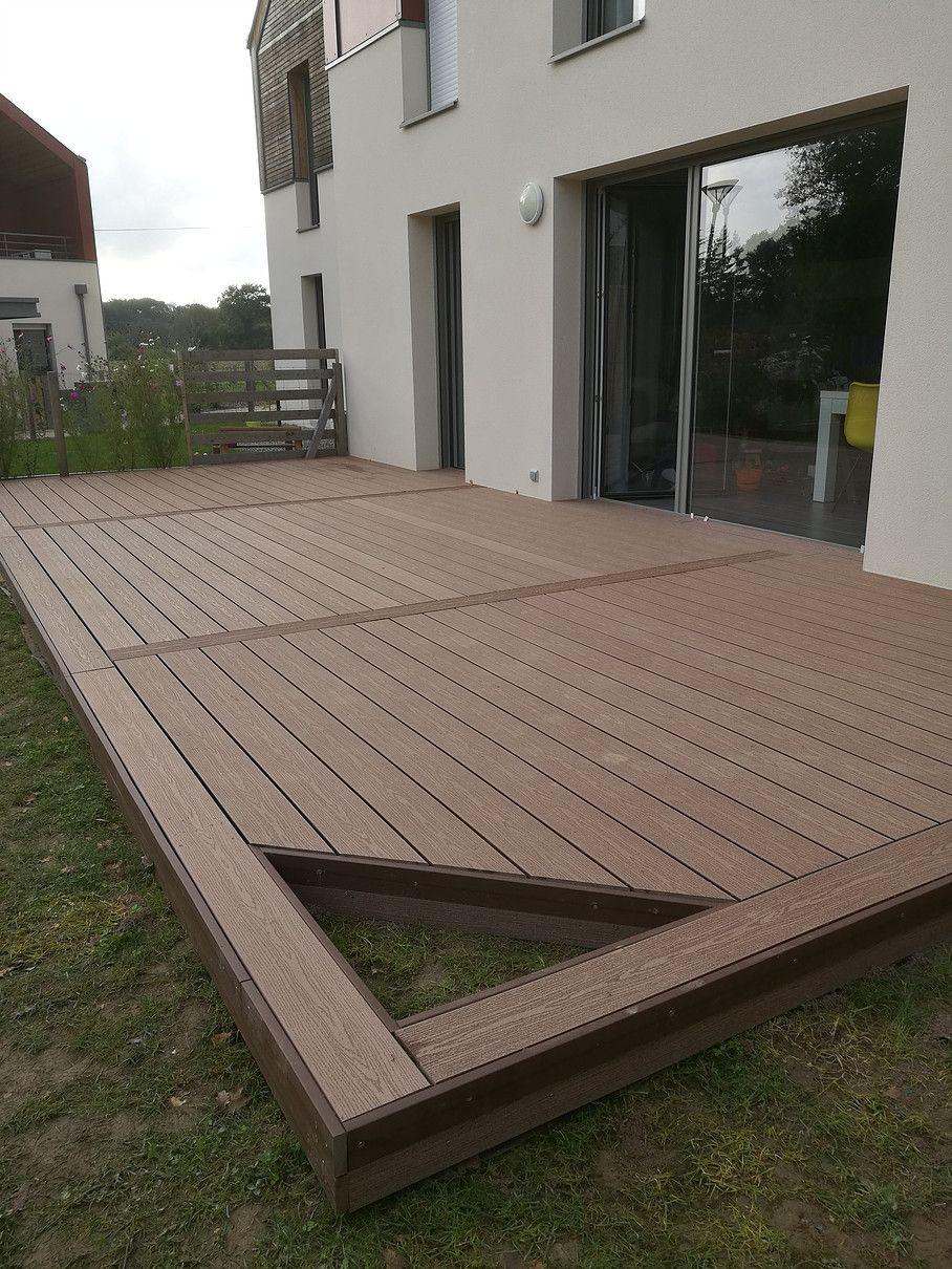 Construire Terrasse En Bois terrasse bois. en 2020 | terrasse bois, amenagement terrasse