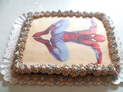 أسهل و ألذ كيكة عيد ميلاد الأطفال اقتصادية فرحوا بها أولادكم Youtube Decorative Tray Cake Blog