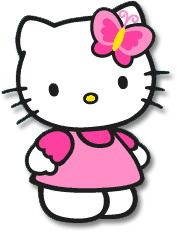 free hello kitty clip art pictures and images hello kitty rh pinterest com free hello kitty clipart borders hello kitty clipart free birthday