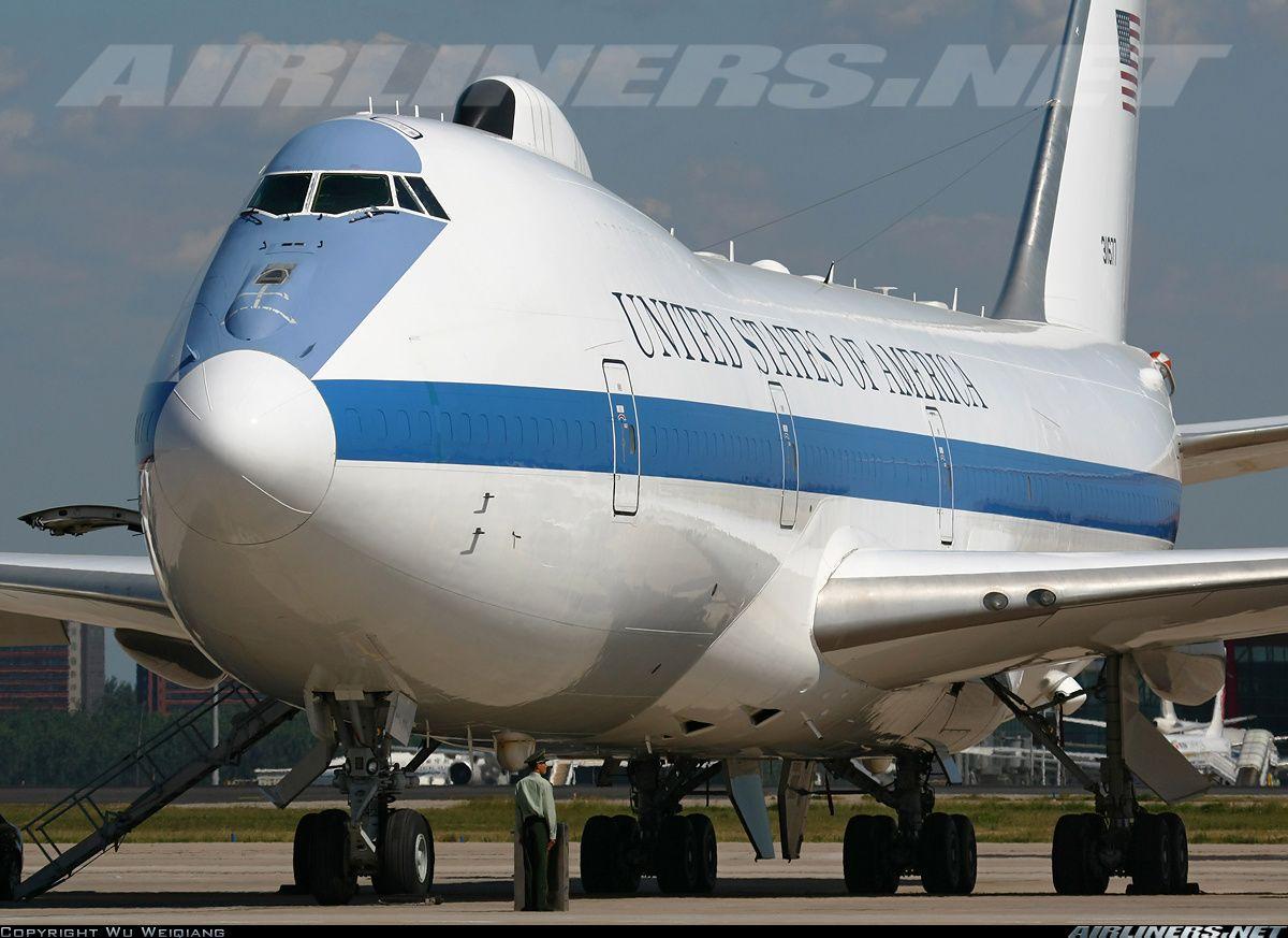 Boeing E4B (747200B) USA Air Force Aviation Photo
