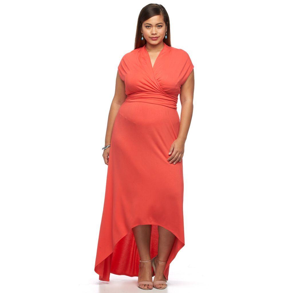 Plus Size Apt 9 High Low Maxi Dress Kohls High Low Maxi Dress Maxi Dress Dresses [ 1024 x 1024 Pixel ]