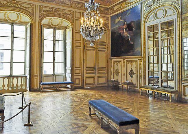 Anti-chambre de L\u0027Oeil de Boeuf, Château de Versailles Castles