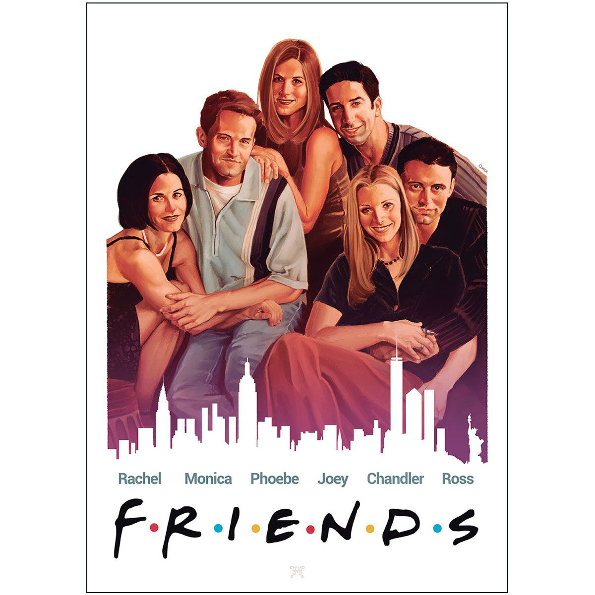 Friends (1994-2004) | Friends poster, Movies and tv shows ...