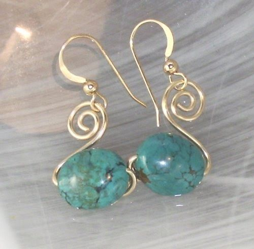 Here is another little earring tutorial that I hope you enjoy. These ...