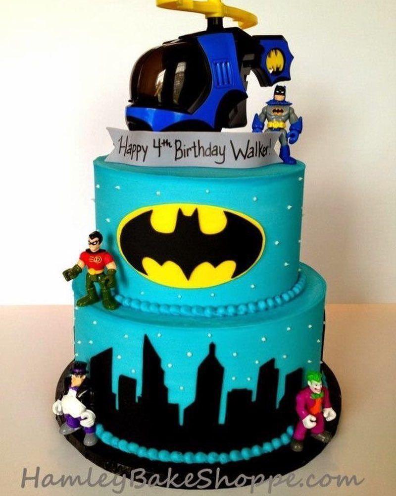 Pin By Shannon Watson On Cakes Batman Cake Boy Birthday Cake