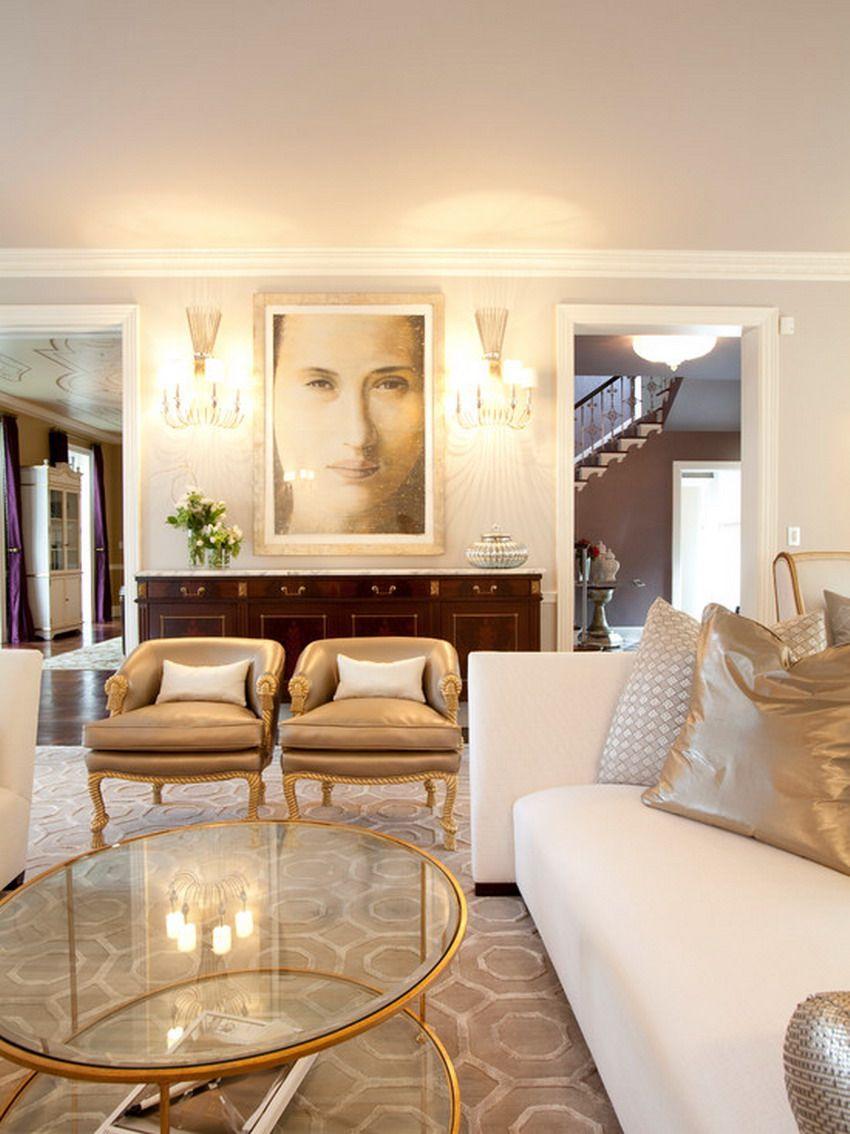 Wonderful Look of Formal Style Living Room Decor