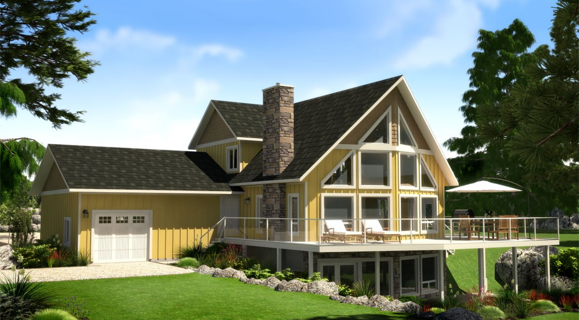 Pin by Brenda on House Plans Lake house plans, Cottage