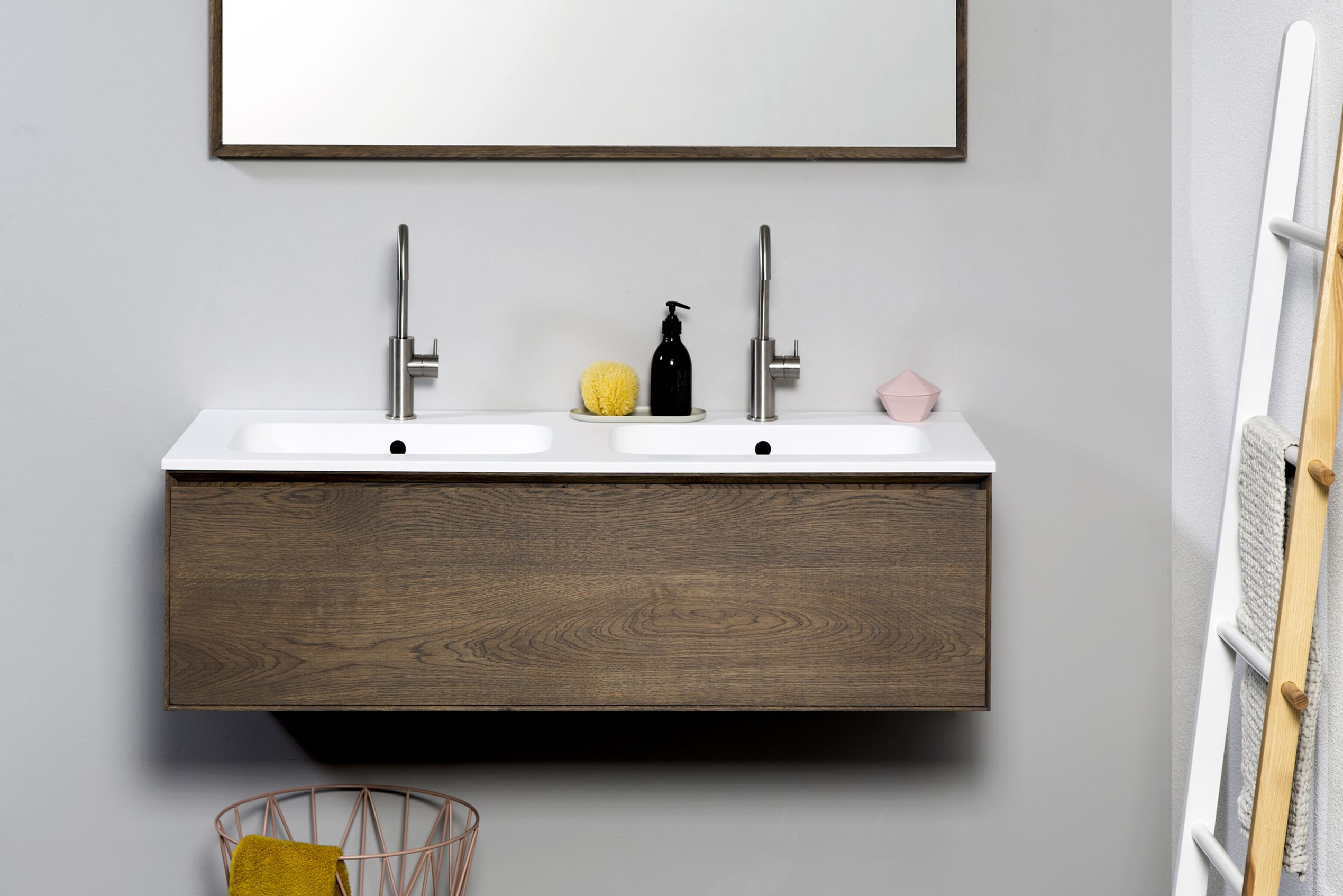 lavanto celio prachtige hoogwaardige badkamermeubel van massief