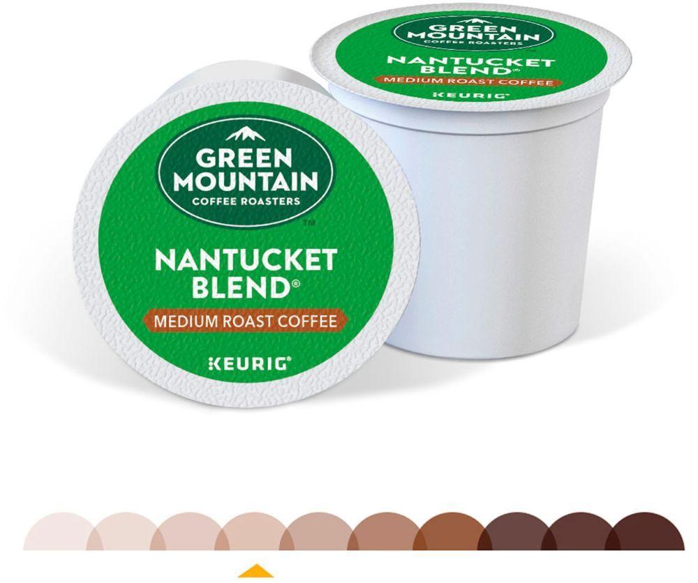 Green Mountain Coffee Nantucket Blend KCup Pods (48