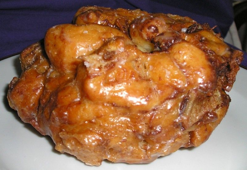 The apple fritter at Ridge donut cafe the best in