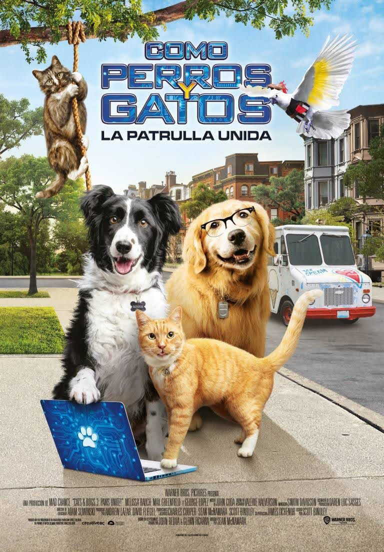 Como Perros Y Gatos La Patrulla Unida Perro Gato Perros Gatos