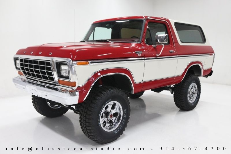 1979 Ford Bronco Custom Take A Close Look At The Factory Towing