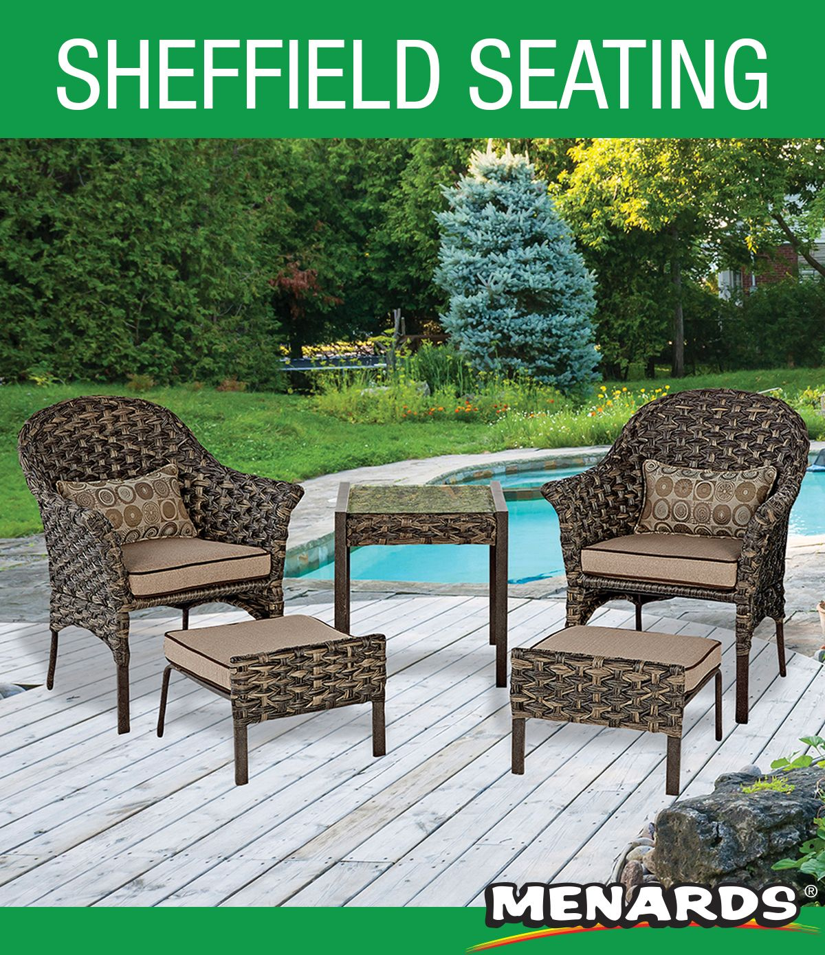 Create A Space For Relaxation This Set Features Weather Resistant