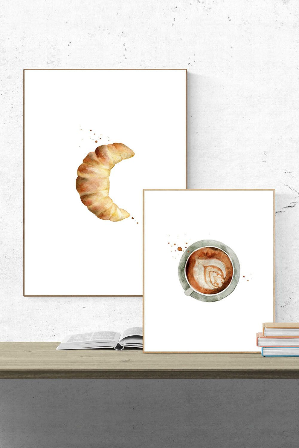 kitchen collection coupons printable kitchen art collection coffee croissant food print set coffee drink print dining wall poster 5495